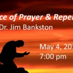 Service of Prayer & Repentance May 4, 2016 @ 7:00 pm