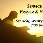 January 2017 – Service of Prayer & Healing