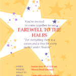 Farewell Reception for the Hales